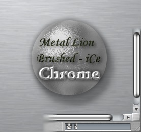 Metal Lion Brushed iCe Chrome Preview