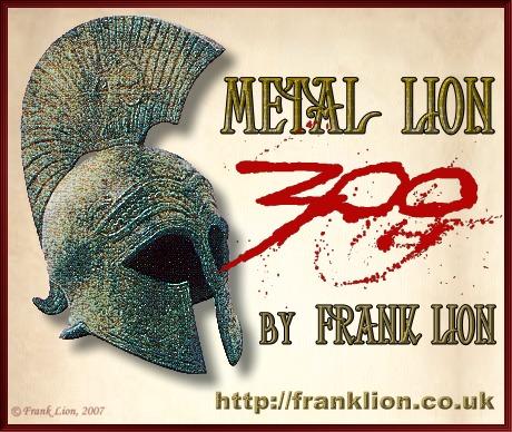 Metal Lion - 300.